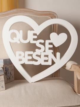 Que se besen corazon
